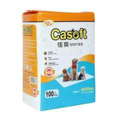 Casoft Wee Wee Pad S 45 X 30cm (100pcs X 8 Packs) By One Stop Petz Centre.