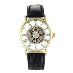 Casual Hollow Watch Alloy Quartz Wristwatches Imitation Machinery Watch Malaysia