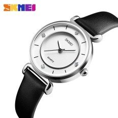 SKMEI Casual Women Watches Leather Strap Ladies Watch Top Brand  Waterproof Wrist Watches for Women Clock Relogio Feminino Malaysia