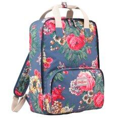 bab4769a2297a Cath Kidston Matt Oilcloth Backpack Rucksack 15AW Bloomsbury Bouquet  Fitting 13
