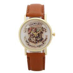 Children Leather Wristwatch Casual Luxury Quartz Watch (Light Brown) Malaysia