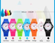 Skmei 1043 Children Quartz Watch PU Band Analog Wristwatch for Kid Rose Malaysia