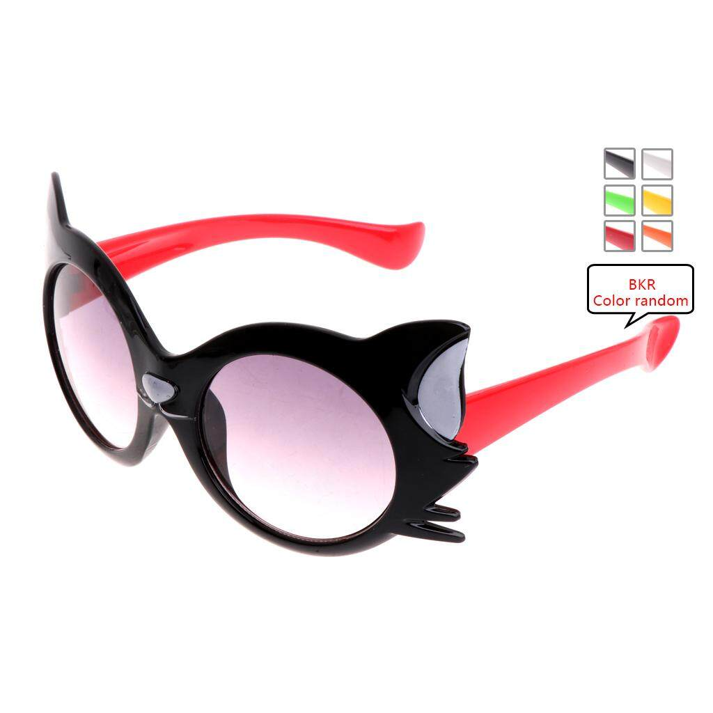 aad86865d9e Children Sunglasses Boys Girls UV Protection Cat Design Sunglasses Eyewear  Goggles - intl
