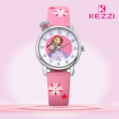 【Free Shipping】Children Watch Cartoon Kids Sport Watches Lovely Princess Girl Quartz Watch Malaysia
