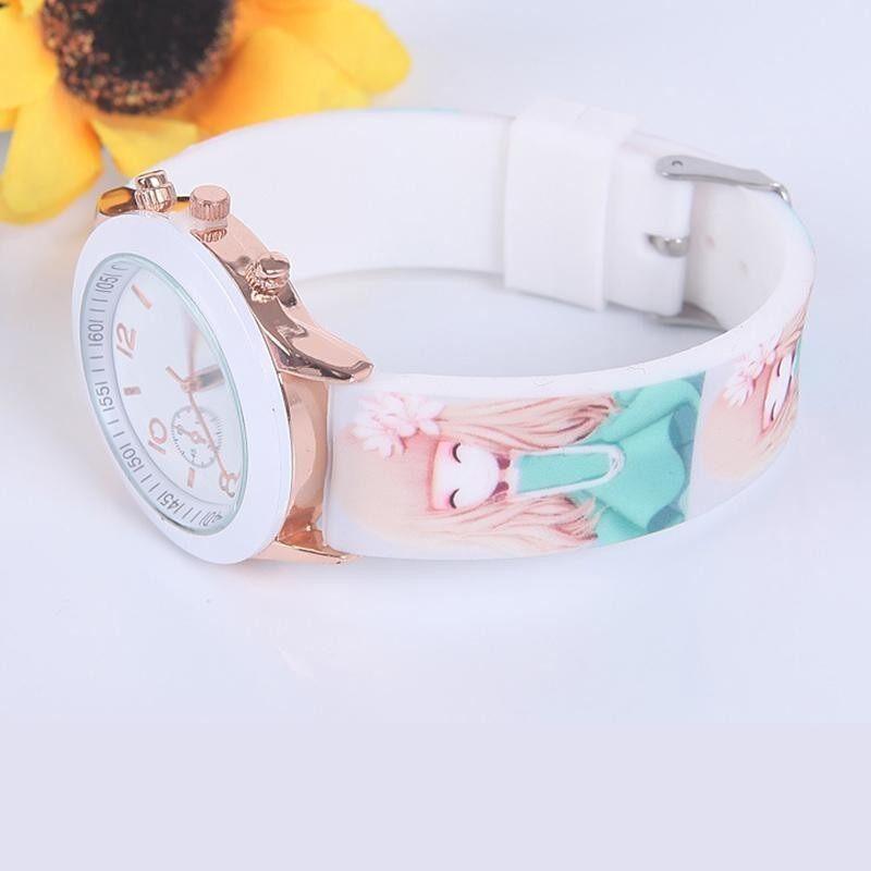 Children Waterproof Jelly Wristwatch Sport Casual Quartz Watch bán chạy