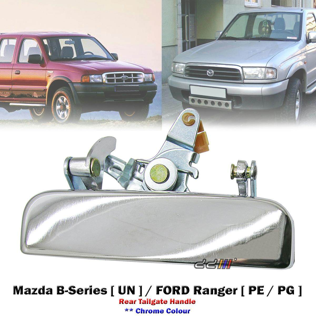 Chrome Tailgate Handle For Ranger Courier Pe Pg Ph Mazda Bravo B2500 1998 06