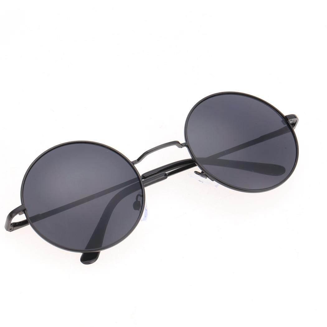 Obral Cuci Gudang Sunwonder Baru Unisex Kacamata Retro Modis Kacamata Gaya Antik Kasual Bingkai Kura-kura Lensa Kacamata Bulat-Intl