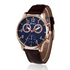 CocolMax  Retro Design Leather Band Analog Alloy Quartz Wrist Watch Malaysia