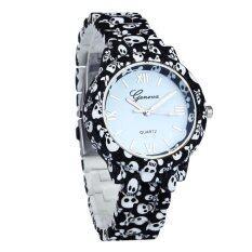 Coconiey Women Band Analog Quartz Business Wrist Watch Black free shipping Malaysia