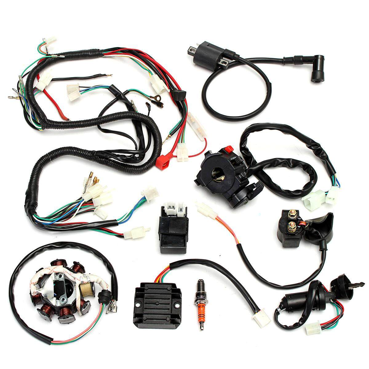 Automotive Wiring For Sale Harness Online Brands 96 Honda Accord Vtec Complete Electrics Chinese Dirt Bike Atv Quad 150 250 300cc Intl