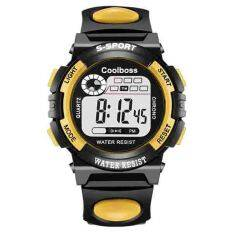 COOLBOSS Brand Men Watches Digital LED Sports Watches swim fashion casual Military Wristwatches PU strap Jam Tangan Lelaki 0118 Malaysia