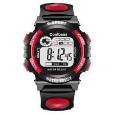 COOLBOSS Digital Watch Men Sports Watches Relogio Masculino Relojes LED Military Wristwatches Malaysia