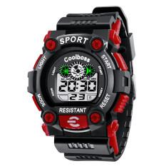 Coolboss Sport Watch Children Waterproof Stop Watch Alarm Back Light Fashion Casual Military LED Digital Kid Boy Girl Wristwatches 1008 Malaysia