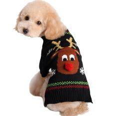 Costume Sweater Deer Puppy Winter New Year Christmas Clothes For Dog And Cat - Xxl By Tvcc.