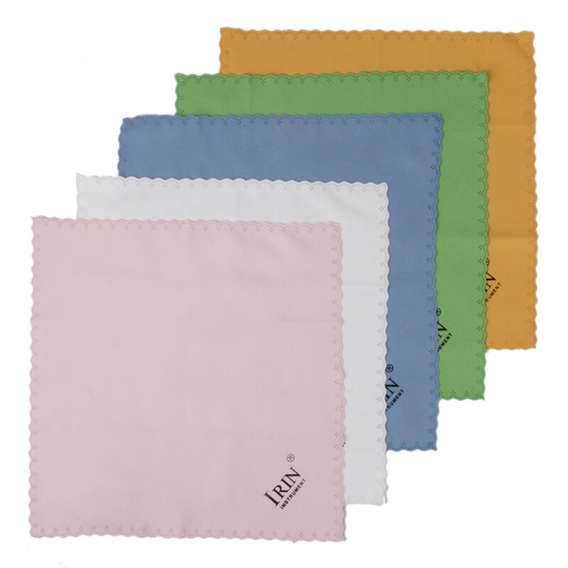 Cotton Cleaning Cloth for Guitar Piano Musical Instruments 5pcs Mixed Color Malaysia