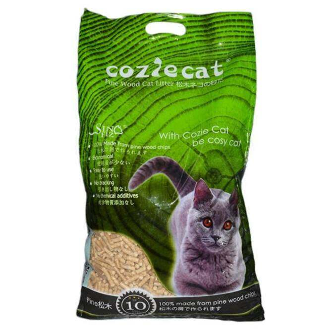 CozieCat Pine Wood Cat Litter 10L