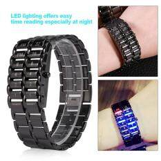 Creative Bracelet Watch Lighting Electronic Wristwatch For Couples Lovers (S) Malaysia
