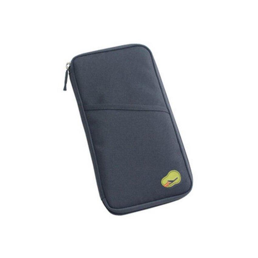 CTOne Handbag Travel Passport Credit Id Card Cashwallet Purse Holder Document Bag Zipper Makeup Organizer -