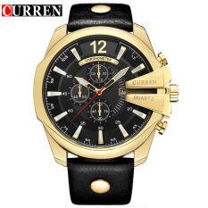 CURREN 8176 Watches Men Popular Luxury Brand Man Quartz Watch Men Watch Men Watch Gift for Man Malaysia