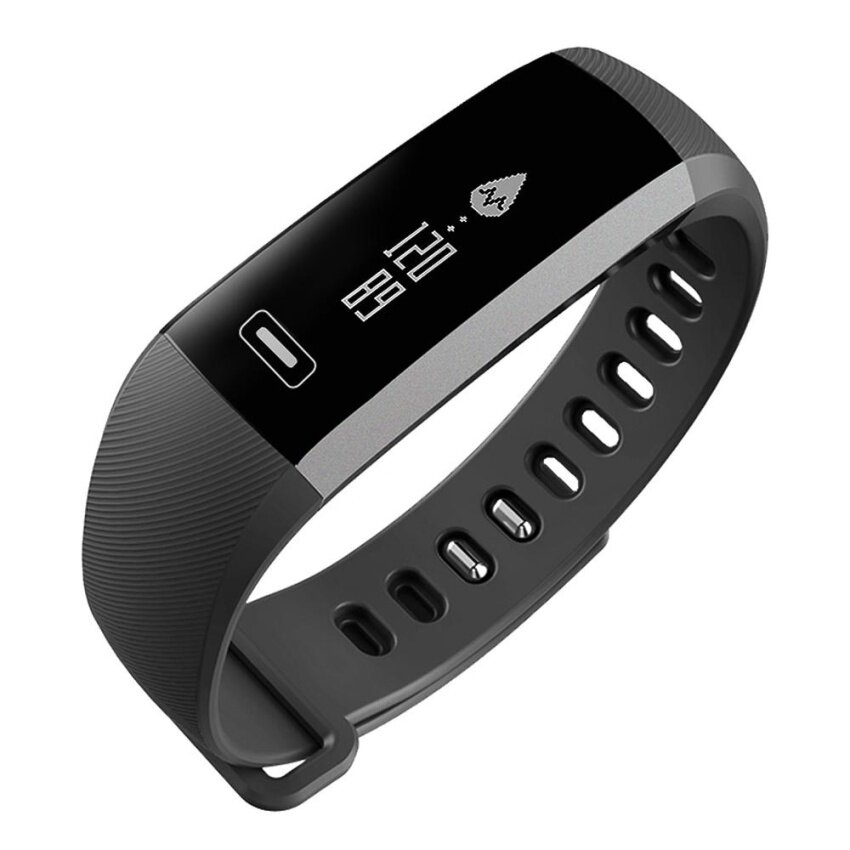 AirBuy CURREN R5 PRO Smart Wrist Band Multifunctional Heart Rate Monitor Alarm Clock Bt 4.0 Professional Fitness Activity Wristband Unisex Sports Watch Smart Bracelet for iOS Android Malaysia