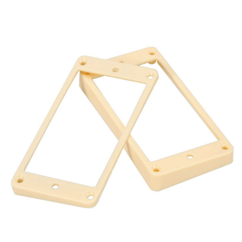 Curved Humbucker Pickups Frames Mounting Rings for LP Electric Guitar Cream Malaysia