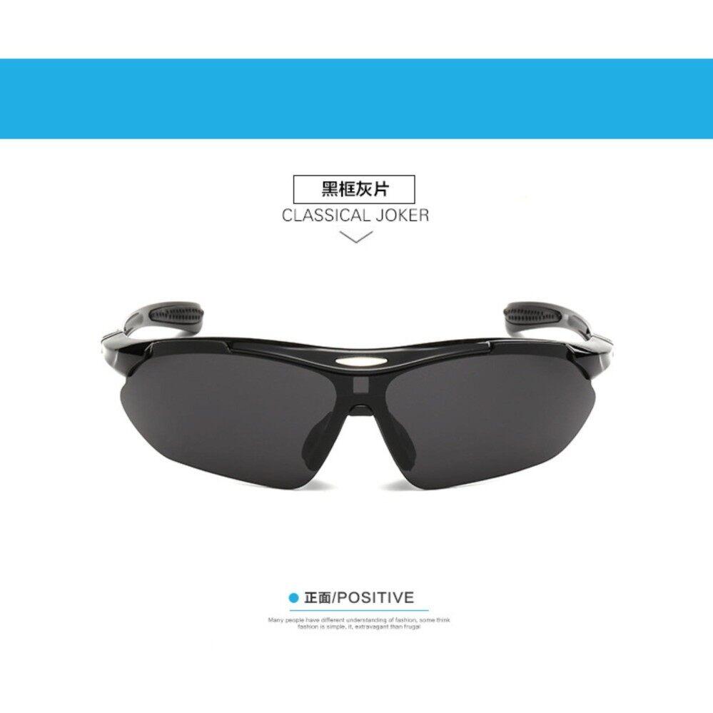 Sepatu Pakaian Olahraga Pria | Lazada - 360DSC Kacamata Lensa Bening Bingkai Hitam Motorcross Sepeda Motor