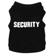 "MYR 44 PentaQ Pet Vest Ultra Soft Cotton ""Security"" Printed T-Shirt Costume"