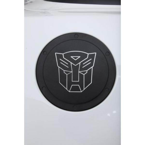 Defenderworx TT1006 Two Tone Non Mengunci Pintu Bahan Bakar dengan Transformers Autobot Logo untuk Camaro 2010