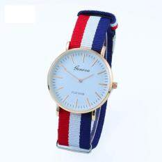 DeParis Geneva Platinum Cambridge Analog Quartz- Tri-color Watch FREE Womage Watch (Pk) Malaysia