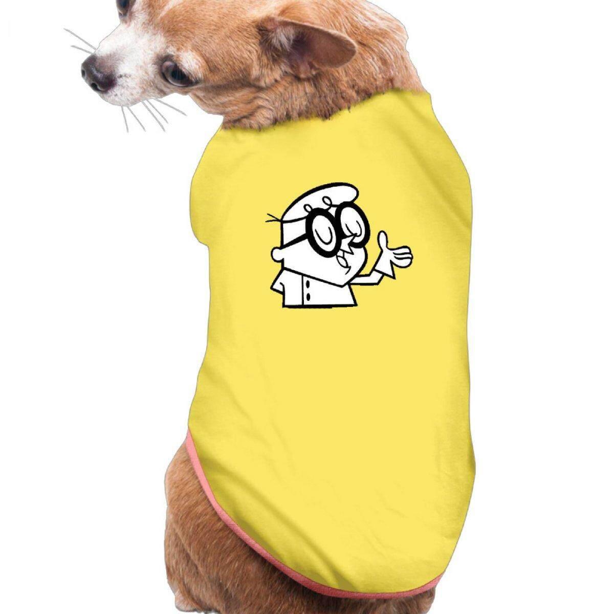 Dexter Laboratorium Hewan Peliharaan Persediaan Peliharaan T-shirt Anjing T Shirt-Internasional