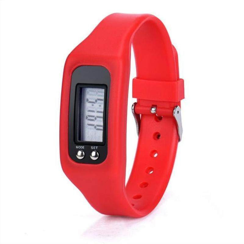 Digital LCD Pedometer Run Step Walking Distance Calorie Counter Watch Bracelet Malaysia