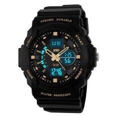 Tampilan Digital LED Jam Tangan Olahaga untuk Pria Wanita Anak Kuarsa Jam Olahraga Relojes Multifungsi Jam Tangan Remaja Laki-laki
