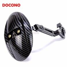 DOCONO Motorcycle Accessories Rear fender Carbon fiber Motorbike mudguard For  Yamaha RC150 LC135 Kawasaki z125(Black)
