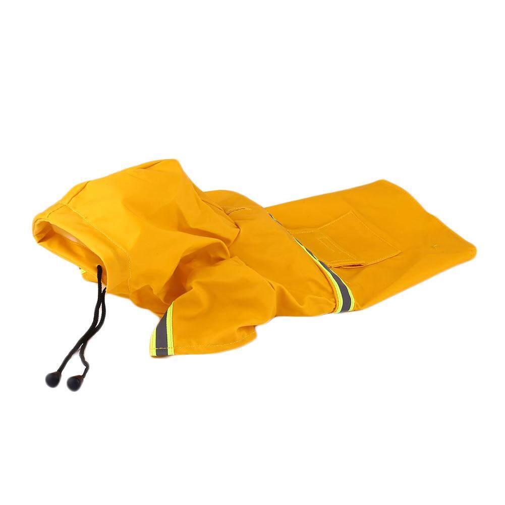 Dog Cat Raincoat Reflective Raining Day Waterproof Pet Supplies L-XXL Size - intl