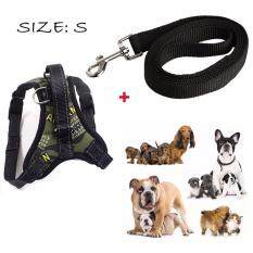 Dog Harness With Handle On Top, Adjustable No Pull Dog Chest Strap Harness For Small To Large Dog - Best For Training, Walking, Hiking(green),size S By Yi Francais.