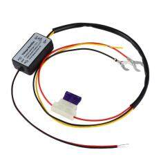 Drl Controller Auto Car Led Daytime Running Light Relay Harness Dimmer By Happydeals.