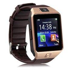 DZ09 Single SIM Smart Watch Phone -  Gold Malaysia