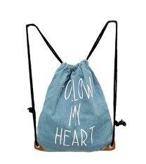 0faa93026f EOZY New Fashion Swimming Drawstring Beach Bag Sport Gym Backpack (Light  Blue)