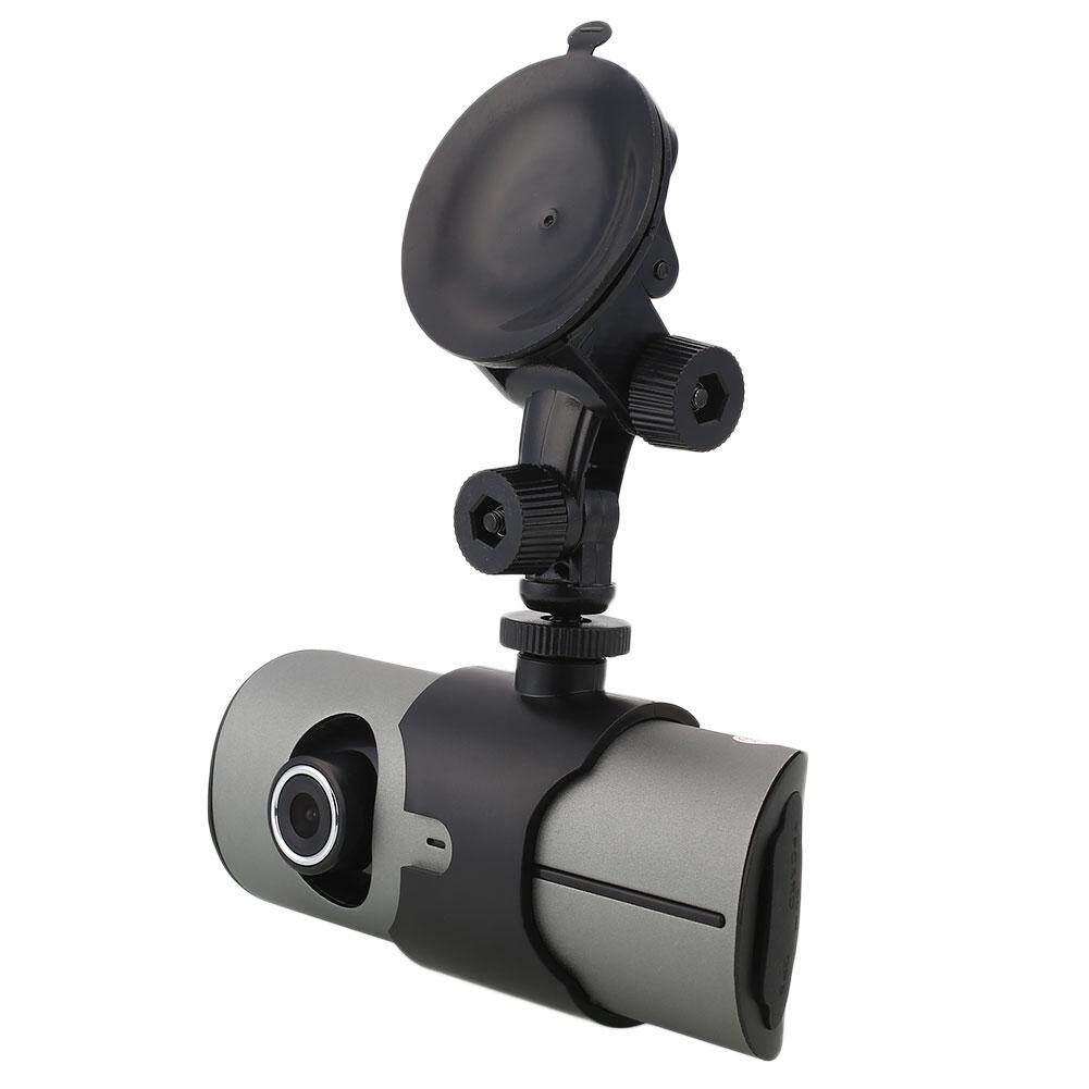 Epoch X3000/R300 2.7 ''Dua Lensa Mobil Dash 1080 P Modus Malam Kamera DVR Camcorder-Intl
