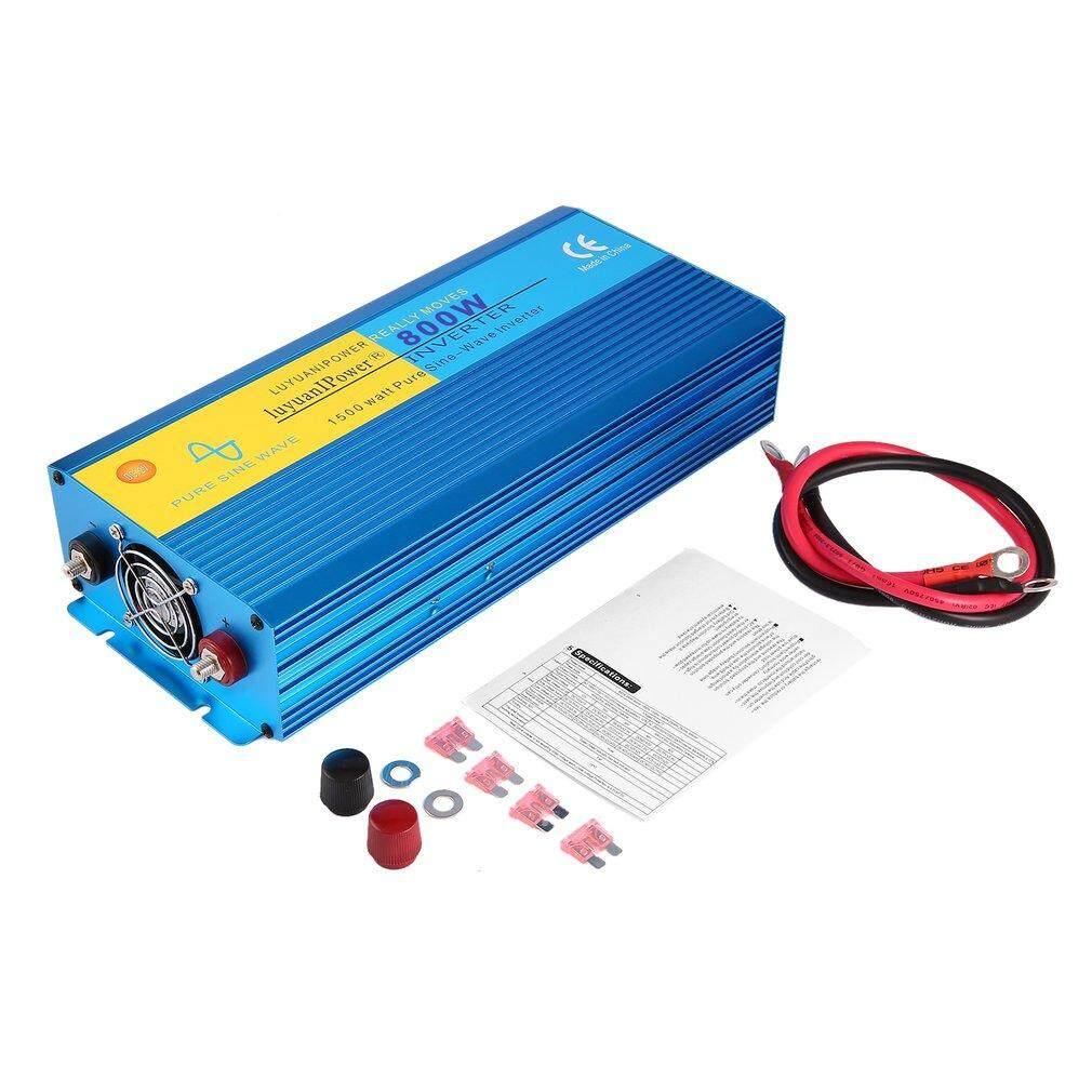 Car Inverter For Sale Power Converter Online Brands Prices Sine Wave Circuit Diagram Era 800w Pure Dc12v To Ac220v Aluminum Alloy Housing Intl