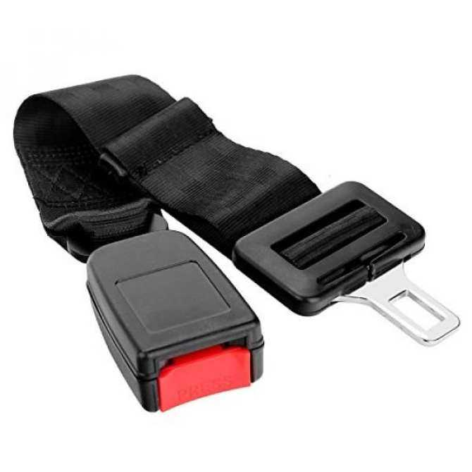14cm Rigid Seat Belt Extender Type A E4 Safety Certified Click