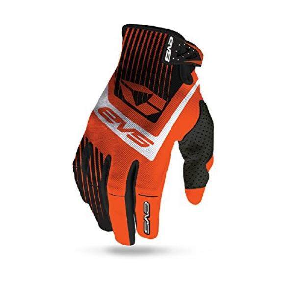 EVS Olahraga Unisex-Dewasa Pro Vector Sarung Tangan (Oranye/Hitam Kecil)-Intl