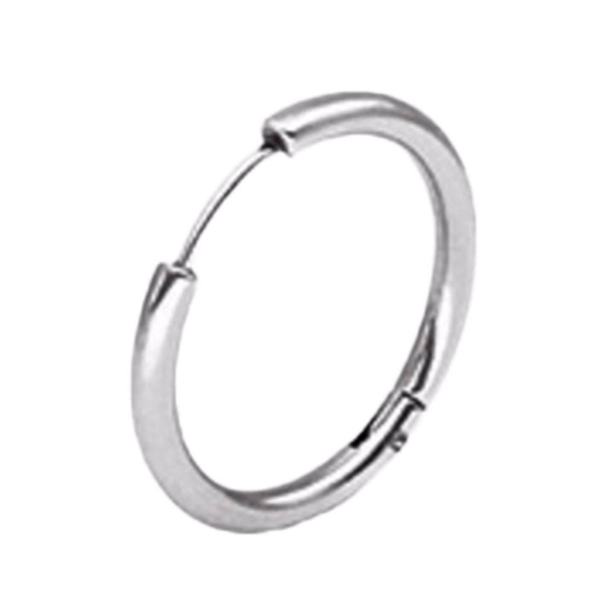 Rgb3785 Aksesoris Gelang Simple Preparation Harga Terkini dan Source · Fancyqube 1 Pc Punk Stainless Steel Hoop Earrings Simple Style Circle Hoop Earring K ...