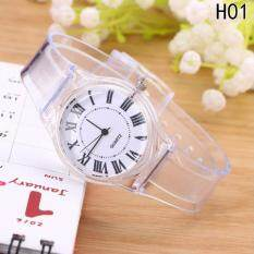 Fancyqube Lovely Kids Boys Girls Transparent Band Wristwatch Quartz Watch H01 Malaysia