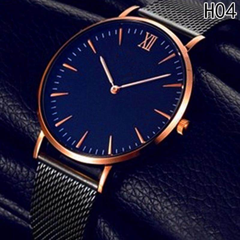 Fancyqube New mens thin business casual stencil mens watch H04 Malaysia