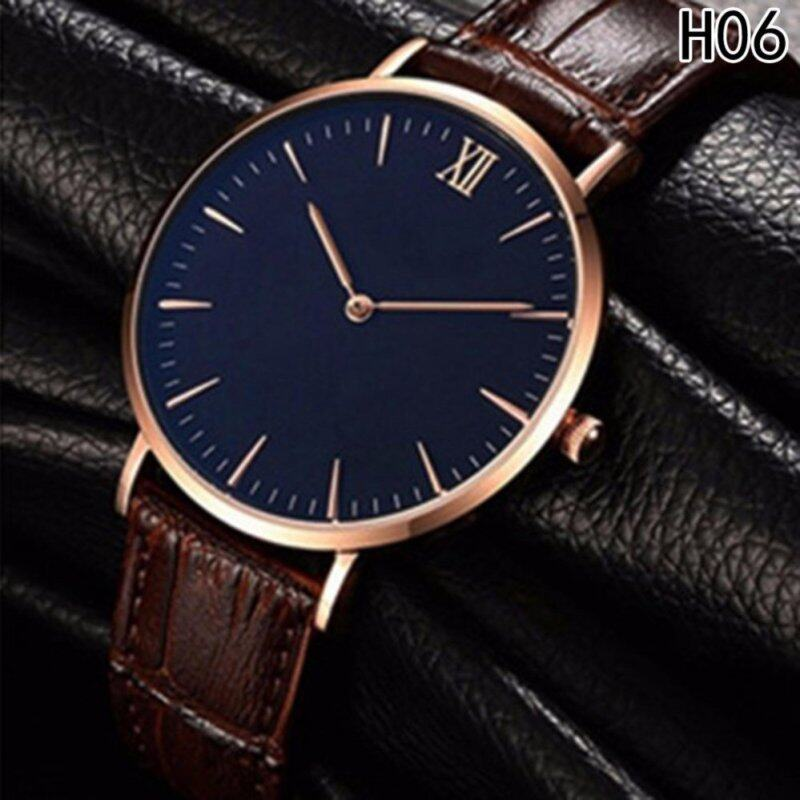 Fancyqube New mens thin business casual stencil mens watch H06 Malaysia