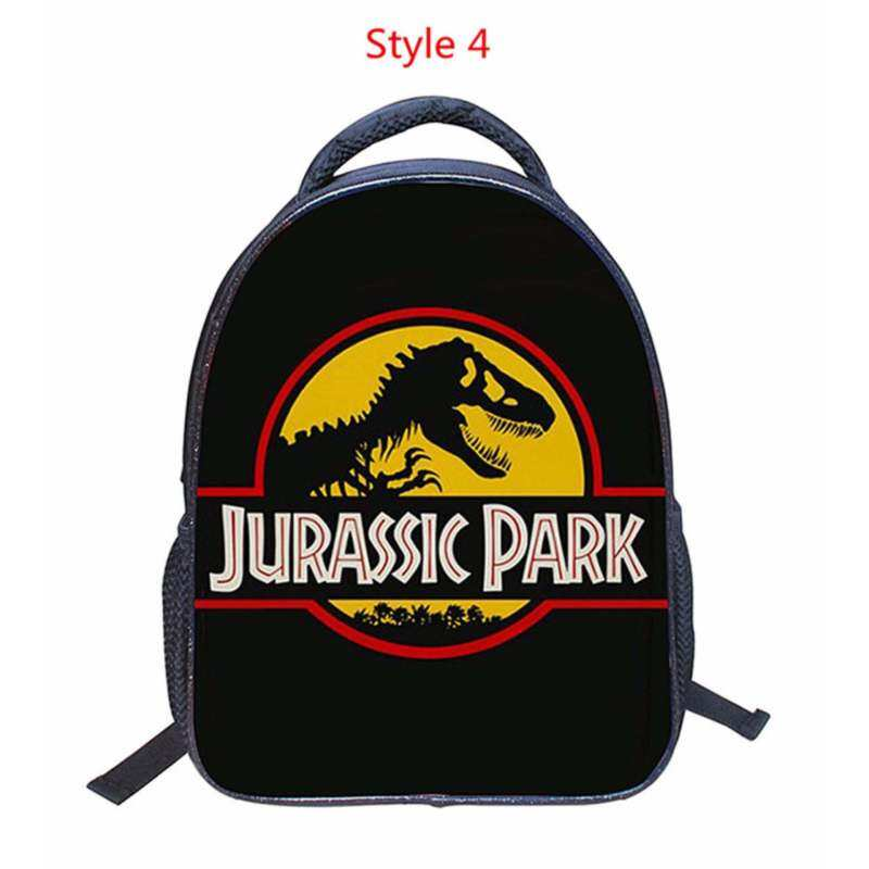 Fashion 3D Dinosaurs Jurassic world embossing small boys students bag backpacks school travel backpack children bags