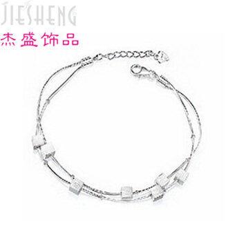 (FASHION)-(BEST)-Factory direct box girls bracelet South Korean single product Korean version of the jewelry vendor supplies wholesale - intl