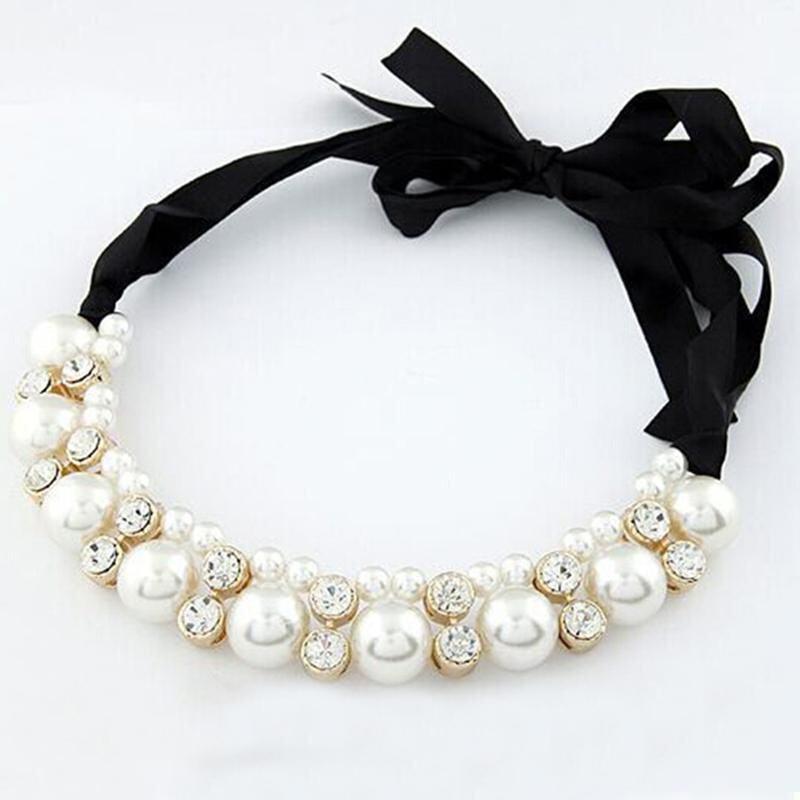 Fashion Korea Emas Berlian Kristal Berlapis DROP Peach Perhiasan Liontin Bentuk Hati Rantai Perak Sterling Liontin Berbentuk Sweter Kalung Berkilau (Putih)