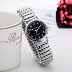 9496586e5cda Fashion Ladies Women Unisex Stainless Steel Quartz Wrist Watch Coffeeuple Watch  A
